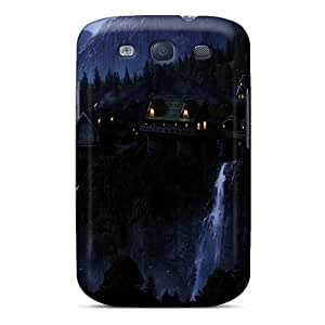 Fashion Tpu Case Galaxy S3- Lotr Rivendell Defender Case Cover