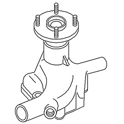 Amazon Com 1058287c91 New Water Pump Made To Fit Case Ih Harvester