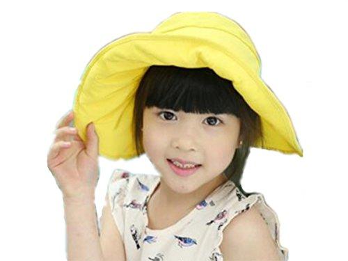393dc95f296c7 (リアルスタイル) Real Style キッズ 子供 ハット つば広 赤ちゃん キャップ サファリハット 折りたたみ