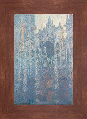 The Portal of Rouen Cathedral in Morning Light by Claude Monet - 14