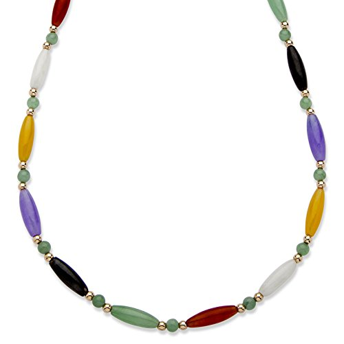Jade Beaded Necklace - 5