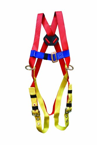 Elk River 52322 Freedom EZE-Fit 3 D-Ring Harness with Belt Loops and Fall Indicator, Fits Small to Large by Elk River