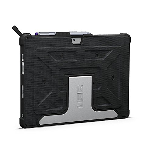 UAG Microsoft Surface 3 Feather-Light Composite [Black] Aluminum Stand Military Drop Tested Case - Not for Microsoft Surface Pro 3