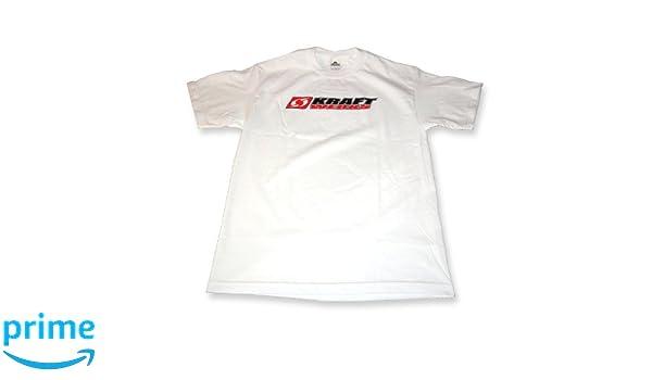 KraftWerks 735-99-9103 White X-Large T-Shirt with KRW Logo ...