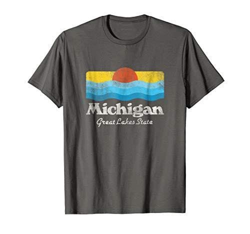 Retro Michigan Great Lakes State -