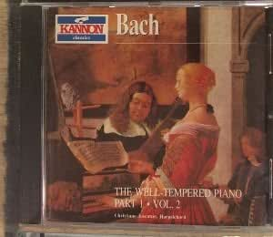 Bach : The Well-tempered Piano Part 1, Vol. 2