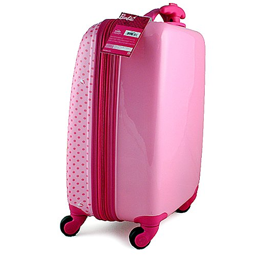 ee35fafe1bae Amazon.com: Barbie Polycarbonate Hard Shell Spinner Luggage Case
