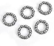SICHU 5Pcs Bike Ball Bearing Retainer Replacement Mountain Bike Parts,9 Balls Repair Accessories for MTB Bicyc