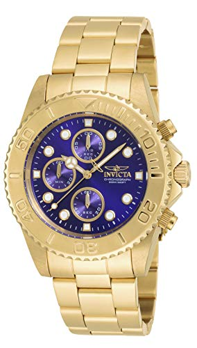 Invicta Men's 19157 Pro Diver Gold-Tone Bracelet Watch ()