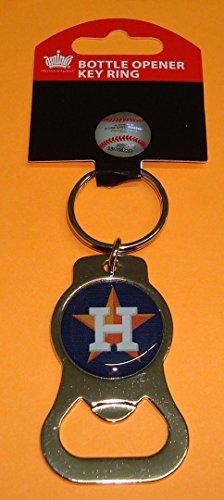 aminco MLB Houston Astros Bottle Opener Key Ring