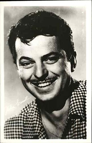 John Carroll Signed Photo Actors Original Vintage Postcard