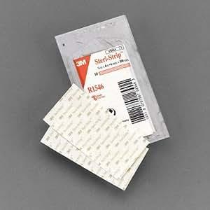 3M Steri-Strip Adhesive Skin Closures R1546, 50 Strips