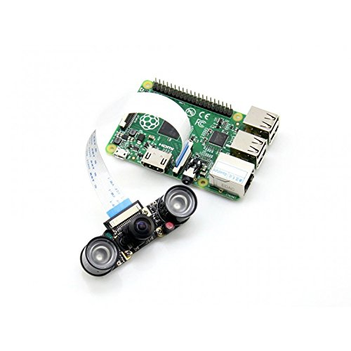Raspberry Pi Camera (H), Fisheye Lens, Supports Night Vision