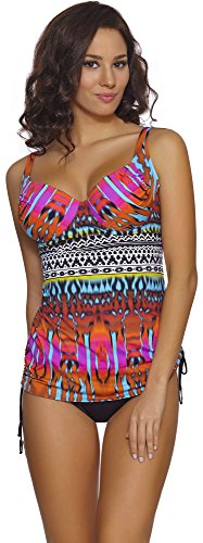 Merry Style Womens Tankini 001 (Pattern-01D, 46D/XXXXX-Large), 46D/XXXXX-Large)