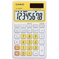 Casio SL-300VC Standard Function Calculator, Yellow