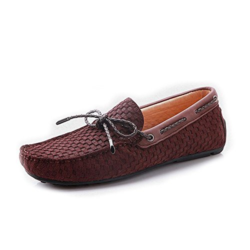 Fulinken Leather Moccasin Loafers Driving