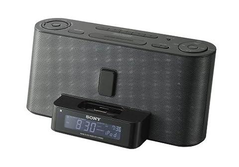 Sony ICF-C1IPMK2 Speaker System and Clock Radio with iPod Dock (Black) (Ipod Dock With Clock)
