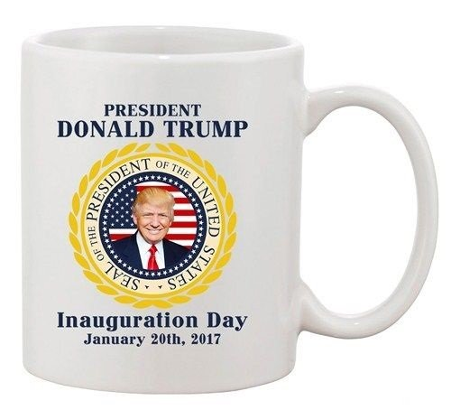 Trump Inauguration Day Trump President Flag DT Coffee - House Bikini Berlin