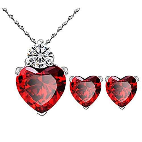Red Jewelry Amazon Com