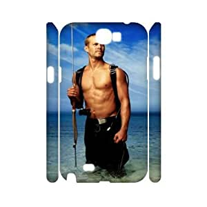 I-Cu-Le Paul Walker Customized Hard 3D Case For Samsung Galaxy Note 2 N7100