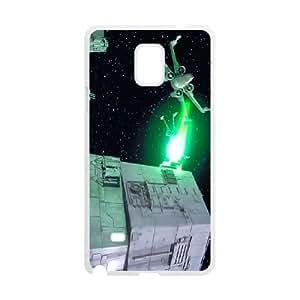 Star-Wars-Death-Star Samsung Galaxy Note 4 Cell Phone Case White V3G7IB