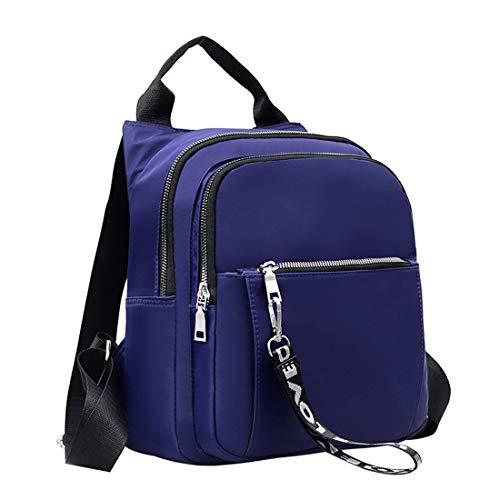 Mochila Bolso Informal Pequeña para Ligero YOOKNEL De Azul con Impermeable Mochila Bolso Mochila Mujer Viaje Mochila Blue Portátil RZqzR1nIw