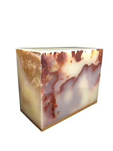 two-4-five Marble Urns for Human Ashes, Cremation Urn, Outside or Inside Use ()