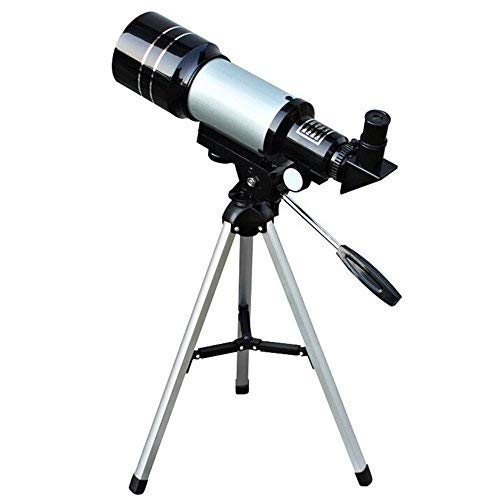 150X Professional Space Astronomical Monocular Telescope with Barlow Lens Eyepiece and Tripod and Moon Filter by WEEBUY