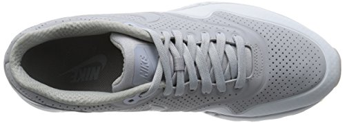 Nike Air Max 1 Ultra Moire Zapatillas de running, Hombre Gris / Plateado  (Wolf Grey/Wolf Grey-Pr Pltnm)