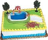 Cake Decorating Kit CupCake Decorating Kit Sports Toys (Swimming Pool...