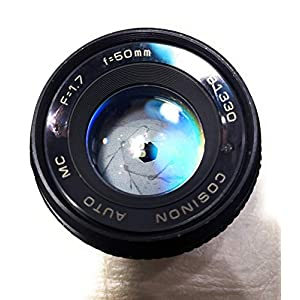 Rm Camera- COSINAON M42 Screw Mount Lens 50MM f=1.7(781330)