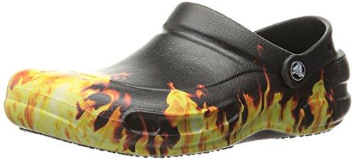 Crocs Unisex Bistro Graphic Clog Black