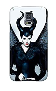 Special Design Back Angelina Jolie Maleficent 2014 Phone Case Cover For Galaxy S5