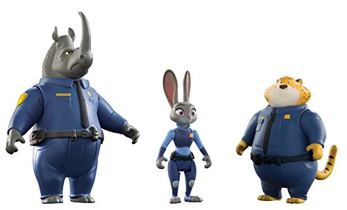 Disney Zootopia Officers McHorn Clawhauser