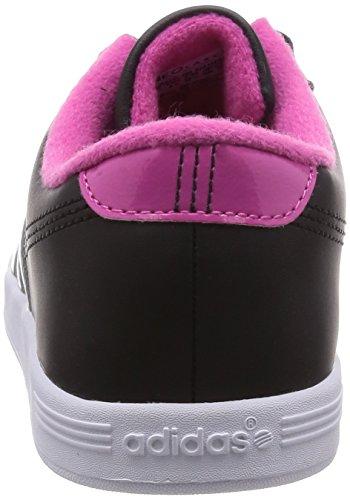 adidas Vlcourt W, Zapatillas para Mujer Negro (001 Black)