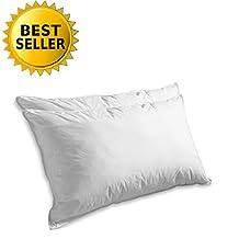 Elegant Comfort Goose Down Set Of 2 Pillows- King/California King