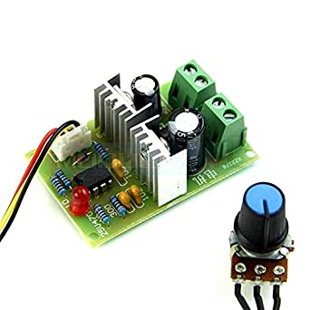 Speed Regulator Controller Switch 3A 12V//24V//36V Pulse Width PWM DC Motor
