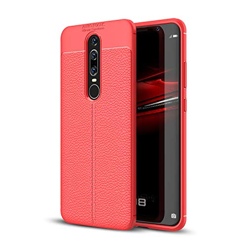 Huawei Mate RS Case, SsHhUu Soft TPU PU Leather Silicon Anti-Scratch Shock Absorption Flexible Thin Clear Luxury Stylish Cover for Huawei Mate RS Porsche Design 2018 (6.0