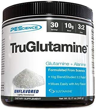 PEScience TruGlutamine, Unflavored, 30 Serving