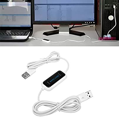 WL-15 USB 2.0 High Speed PC to PC Data Transfer Keyboard Mouse Link Cable