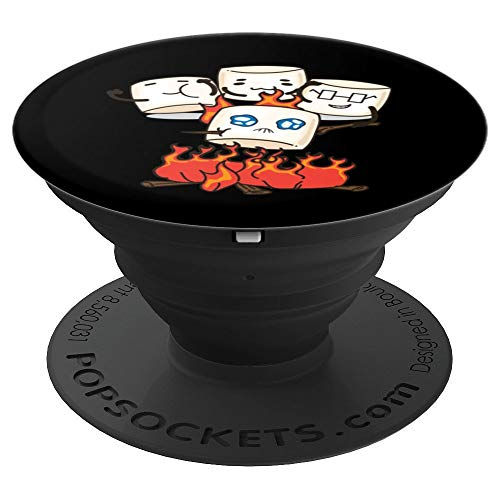 Cute Fluffy Marshmallow Art For Men and Women - PopSockets Grip and Stand for Phones and Tablets