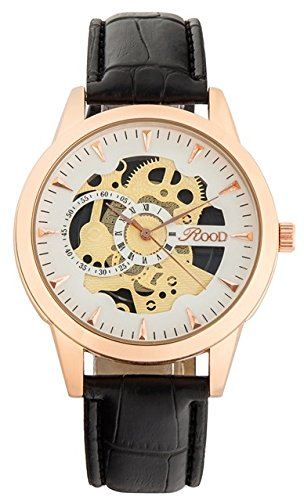 Rood Men Luxury Watch with Leather Band RD59