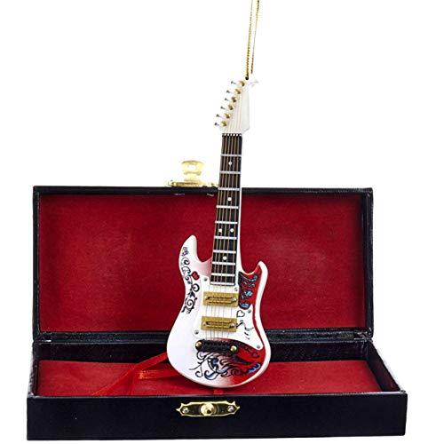 Kurt Adler 5.5 Jimi Hendrix Guitar Christmas Ornament JH2182