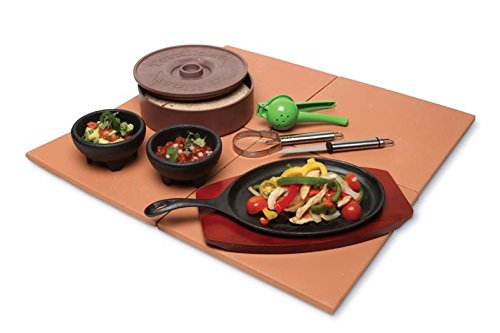 Keilen Origins 6 Piece Fajita Making Set, Multicolored