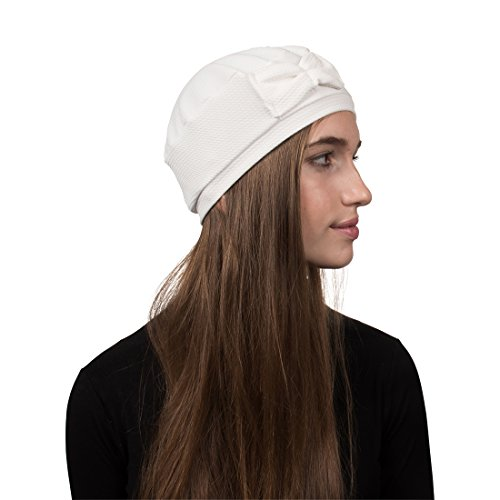 Landana Headscarves Pretty Beanie Hat with Bow Beret Tam