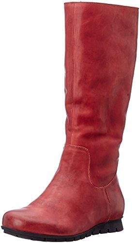 red Boots Bottes rouge Des Red Les 72 Women's Kombi Menscha Rouge Femmes 72 Pense kombi Menscha Think qPpXRx