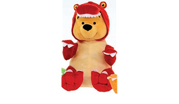 Amazon.com: Disney Winnie The Pooh Dinosaur Suit Plush Soft Toy 25Cm: Toys & Games