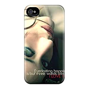 Waterdrop Snap-on I Love You Case For Iphone 4/4s