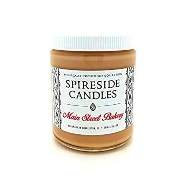 Main Street Bakery - Spireside Candles, Disney Candles, Scented Soy Candle, 8 oz Jar