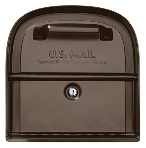 Architectural Mailboxes 6300RZ Oasis 360 Locking Parcel Mailbox with 2-Access Doors X-Large Rubbed Bronze by ARCHITECTURAL MAILBOXES (Image #2)